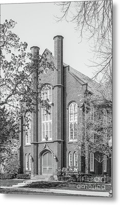 Franklin And Marshall College Goethian Hall Metal Print by University Icons