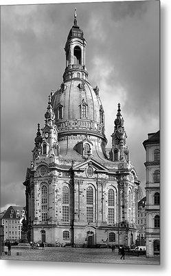 Frauenkirche Dresden - Church Of Our Lady Metal Print
