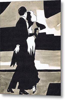 Fred And Ginger Metal Print