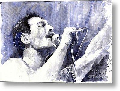 Freddie Mercury Metal Print by Yuriy Shevchuk