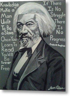Frederick Douglass Metal Print by Jason Majiq Holmes