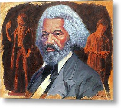 Frederick Douglass Metal Print by Steve Simon