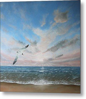 Free As A Bird Metal Print by Paul Newcastle