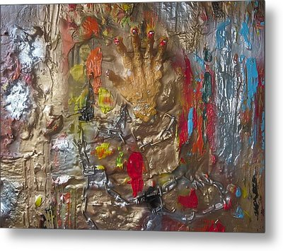 Free From Chains Of Oppression Metal Print by Amanda Weckwerth