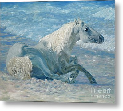 Free Spirit Metal Print by Danielle  Perry