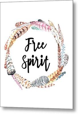 Metal Print featuring the digital art Free Spirit by Jaime Friedman