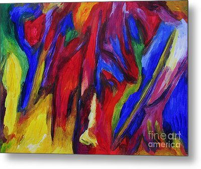 Metal Print featuring the painting Freedom by Dianne  Connolly