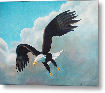 Freedom Eagle Metal Print by Randall Brewer