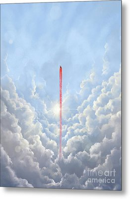 Freedom - Special Edition Metal Print by Vincent Carrozza