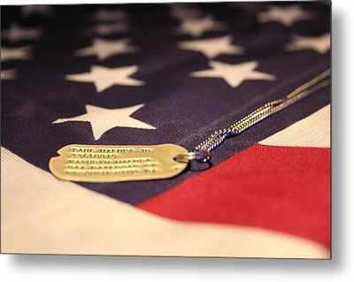Metal Print featuring the photograph Freedom's Price by Laddie Halupa