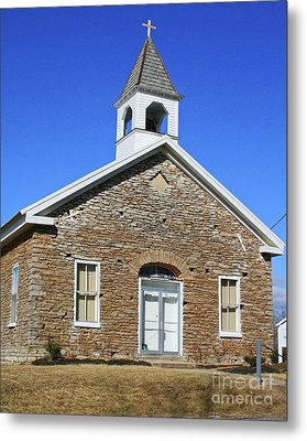 Freedonia Baptist Church Metal Print