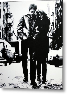 Freewheelin Metal Print
