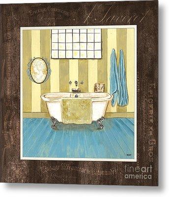 French Bath 2 Metal Print