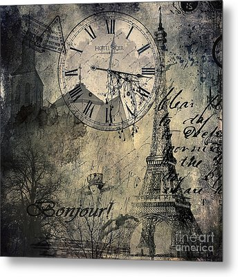 French Collage  Metal Print by Svetlana Sewell