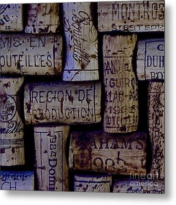 French Corks Metal Print by Anthony Jones
