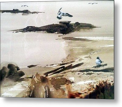 French Lake Metal Print