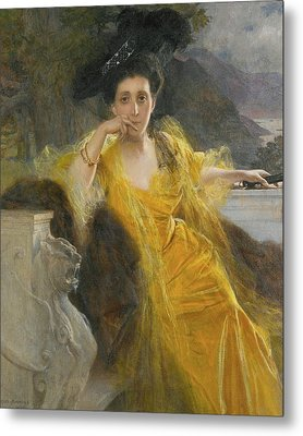French Mme Marie Metal Print