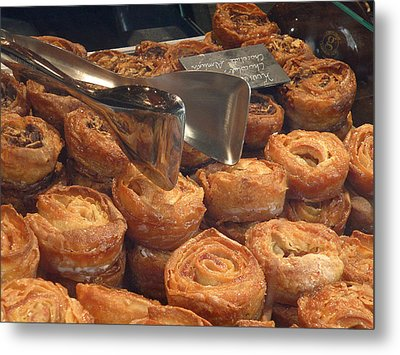 French Pastries Metal Print