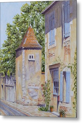 French Pigeonnier Metal Print by Frances Evans