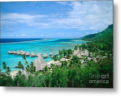 French Polynesia, Moorea Metal Print by Kyle Rothenborg - Printscapes