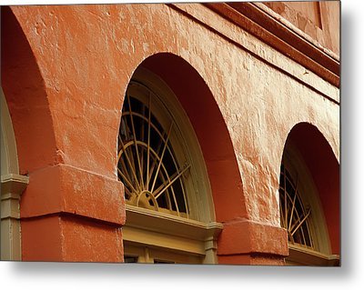 Metal Print featuring the photograph French Quarter Arches by KG Thienemann