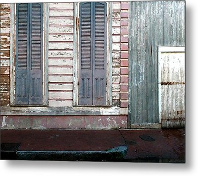 French Quarter Metal Print by Steve Archbold