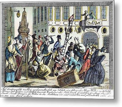 French Revolution, 1789 Metal Print by Granger
