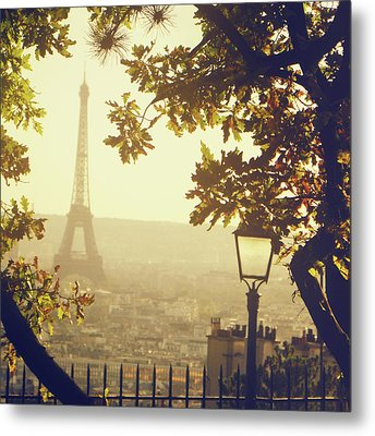 French Romance Metal Print