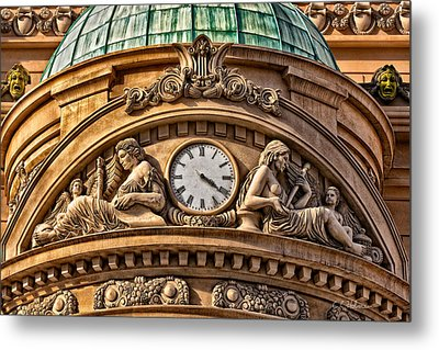French Time Metal Print by Christopher Holmes