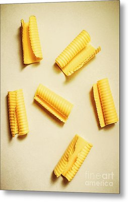 Fresh Butter Curls On Table Metal Print by Jorgo Photography - Wall Art Gallery