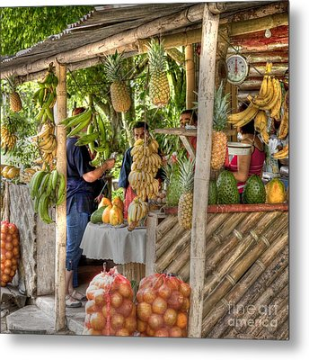 Fresh Fruits For The Day Metal Print