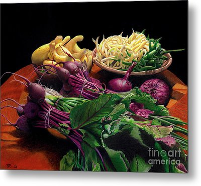 Fresh Vegetables  Metal Print