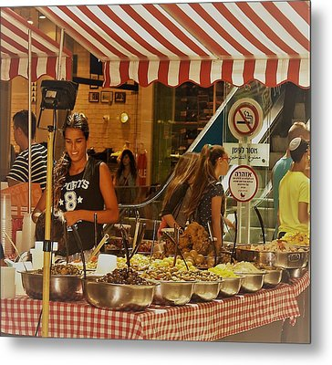 Friday Market Day Metal Print
