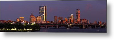 Metal Print featuring the photograph Friday Night Lights by Juergen Roth