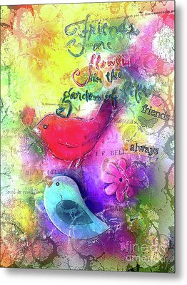 Friends Always Metal Print by Claire Bull