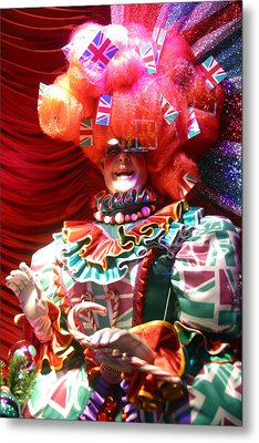 Frightening Dame Metal Print by Jez C Self