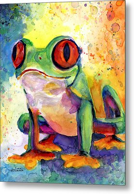 Froggy Mcfrogerson Metal Print