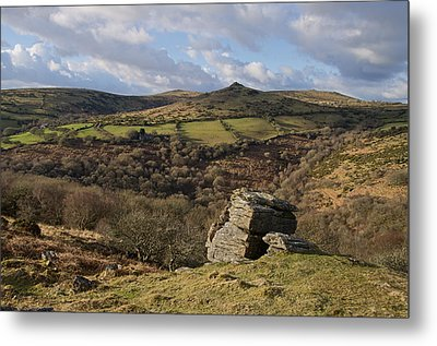 From Bench Tor To Sharp Tor Metal Print by Pete Hemington
