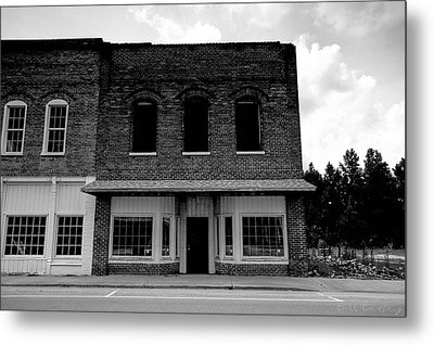 From Mainstreet Metal Print by Bill Cantey
