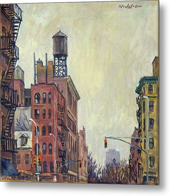 From Orchard Street Nyc Metal Print by Thor Wickstrom