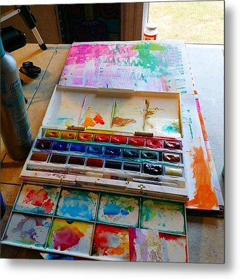 From #palette  To #paper ..adding Some Metal Print by Robin Mead