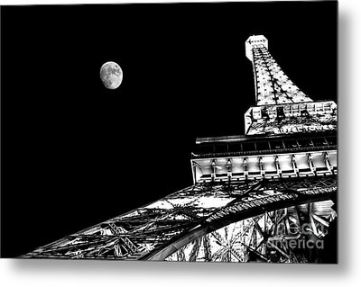 From Paris With Love Metal Print by Az Jackson