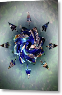 From Seeds Of Kaos Metal Print by Another Dimension Art