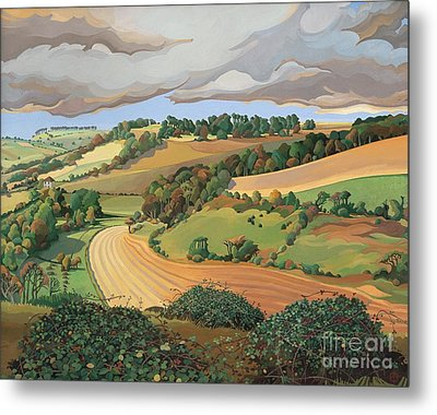 From Solsbury Hill Metal Print