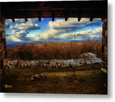 From Sunrise Mountain In Nj On At Metal Print by Raymond Salani III
