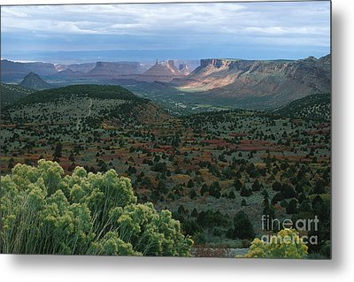 From The La Sal Mountains Metal Print by Stan and Anne Foster