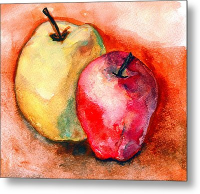From The Orchards Metal Print by Amira Najah Whitfield