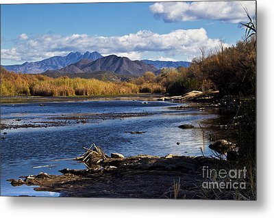 From The Salt Metal Print by Kathy McClure