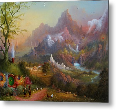 From The Shire To The Sea Metal Print by Joe  Gilronan
