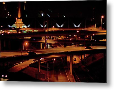 From The Summit Street Bridge Metal Print